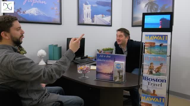 Showcase: Portable Digital Screen Literature Stand