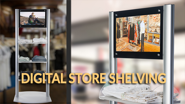 Showcase: Retail Shelves with Digital Sign