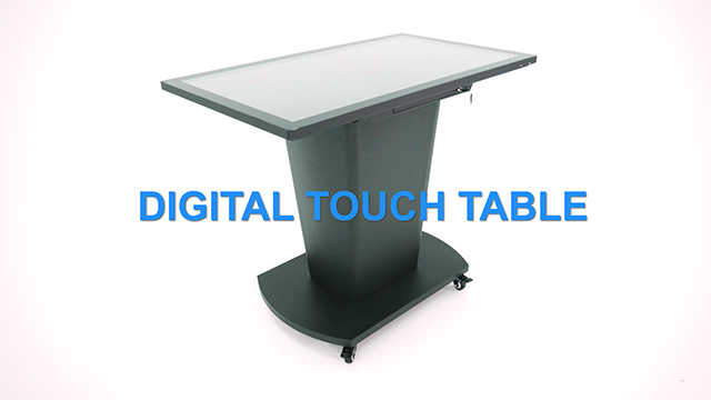 "Product Intro: 43"" Interactive Touch Table"