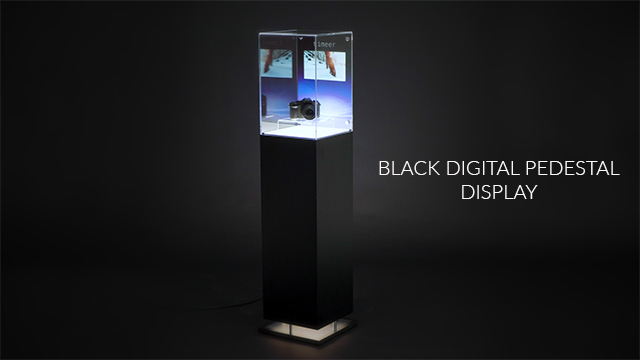 Feature Demo: Pedestal Display Case