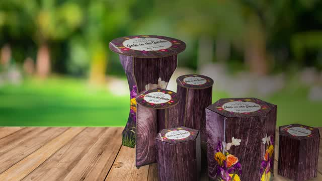 "<p>This assembly video shows how easy it is to set up the 42"" tall cardboard bar table. Setup takes just seconds and includes 2 sturdy base supports and one round tabletop. Furnishing a special event with these high-top cocktail tables is easy! </p>"