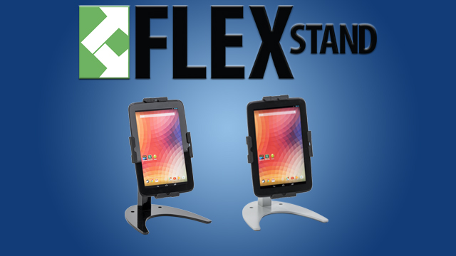 Feature Demo: FlexStand Aluminum Tablet Counter Stand