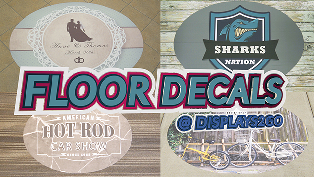 Feature Demo: Commercial Floor Decals