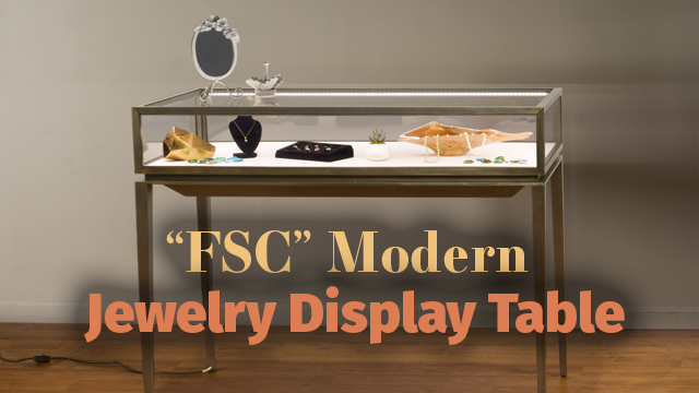 Feature Demo: FSCSTLF7 Jewelry Display Table