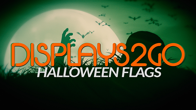 Halloween Flags at Displays2go!