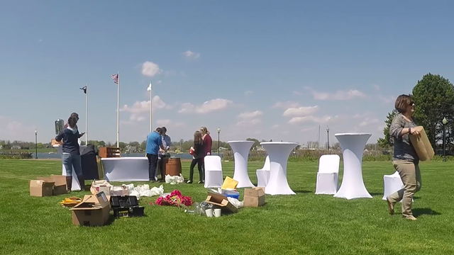 Wedding Setup Hyperlapse