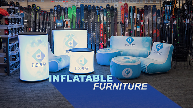 Product Series Showcase: Custom Inflatable Event Furniture