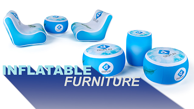 Product Intro: Custom Printed Inflatable Event Furniture