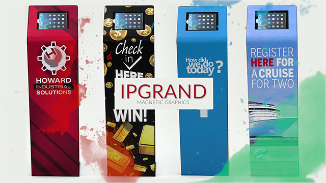 Product Showcase: Magnetic Graphics for IPGRAND Series Tablet Stands