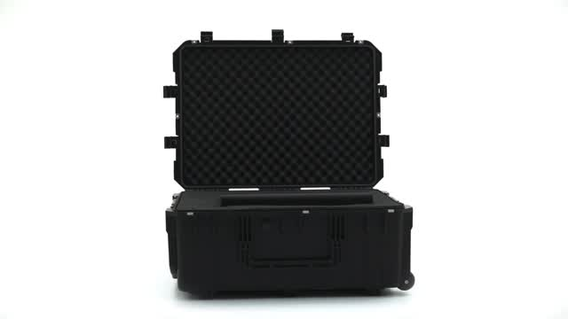 360 View: JFFS01BK Waterproof Cubed Foam Equipment Case