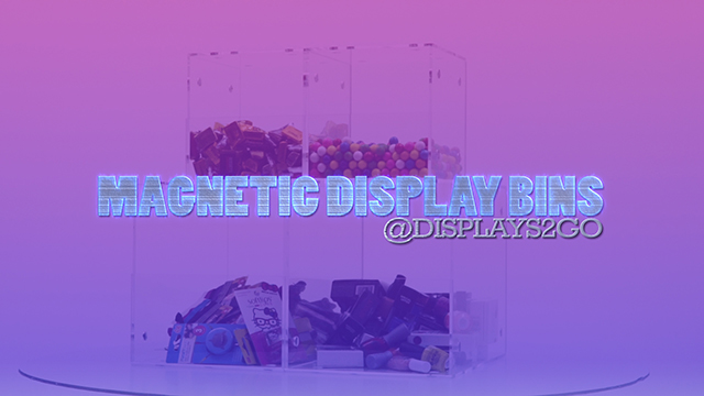 Feature Demo: Plastic Display Containers