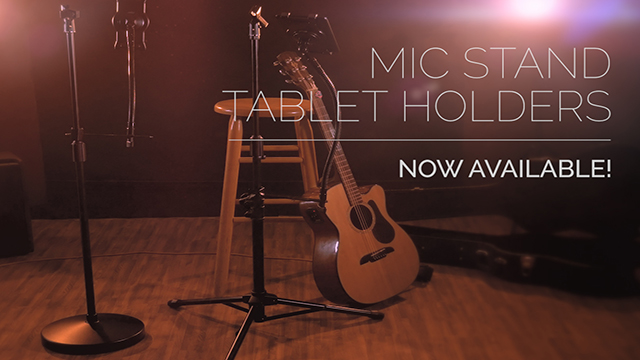 Series Showcase: Adjustable Microphone Stand Tablet Holder