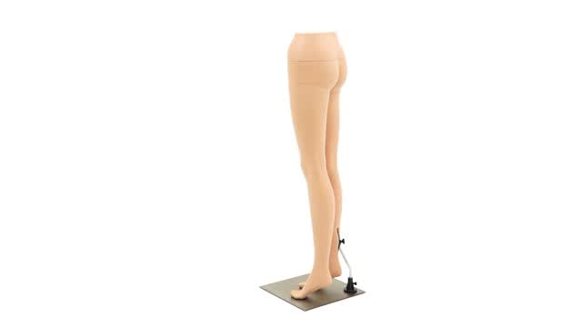 360 Video; Lower Body Female Mannequin