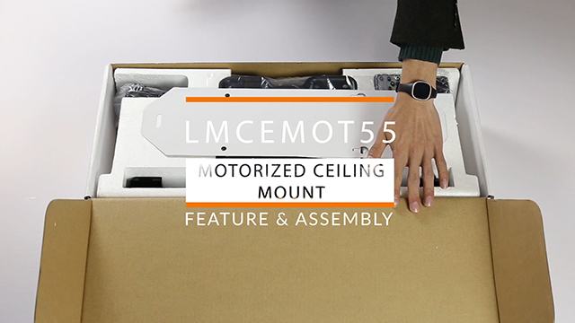 Assembly: Motorized Drop Down TV Mount
