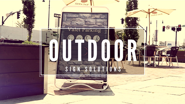 Outdoor Signage Solutions at Displays2go