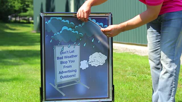 Feature Demo: OWS Waterproof Sidewalk Signs