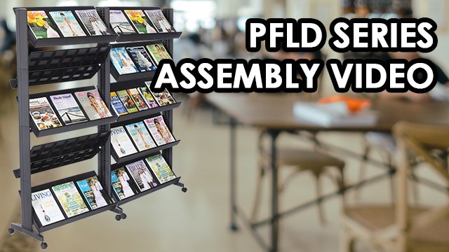 Assembly: Mobile Literature Rack