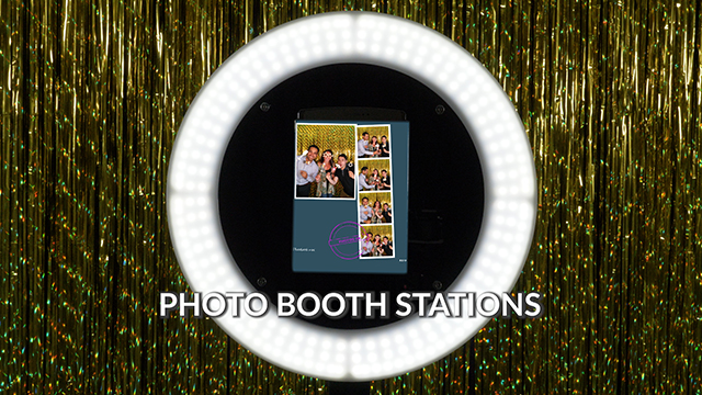Photo Booth Stations