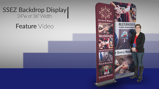 Feature Demo: Popup Fabric Banner Stand
