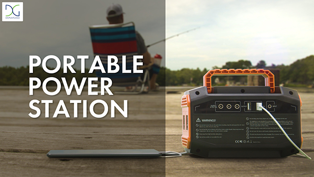 Custom Portable Power Station for Small Electronics