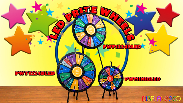 Feature Demo: LED Prize Wheels
