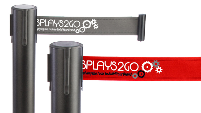 <p> Watch & learn how to assemble these customizable stanchions and belts! The custom retractable belts slide onto the crowd control post with ease! Get these custom stanchion belts printed with 1, 2, or 3 color logos or business names for the ultimate branded display! </p>