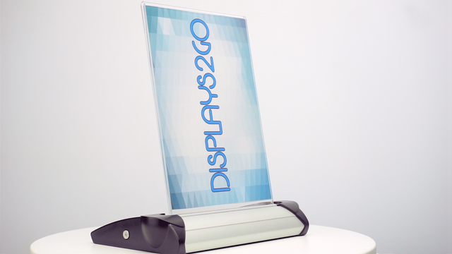 Feature Demo: RJ Tilting Sign Holders