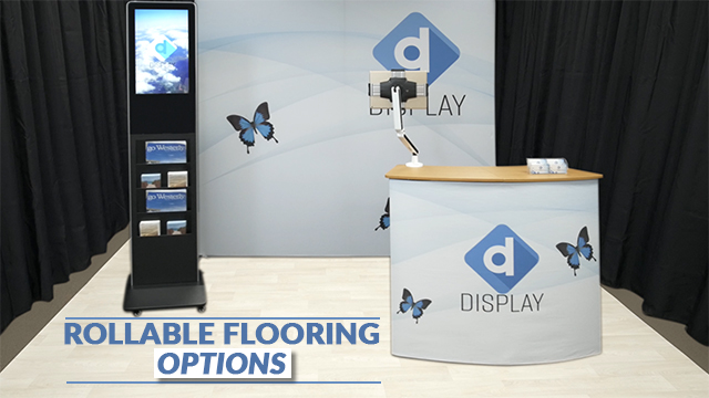 Rollable Carpet and Flooring for Trade Shows and Events