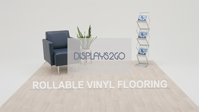 Product Series Showcase: Rollable Vinyl Trade Show Flooring