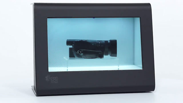 360 View: SBX101 SplashBox See Through LCD Display