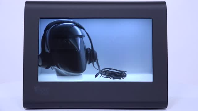Product Demo: SplashBox Transparent LCD Showcases (Black)
