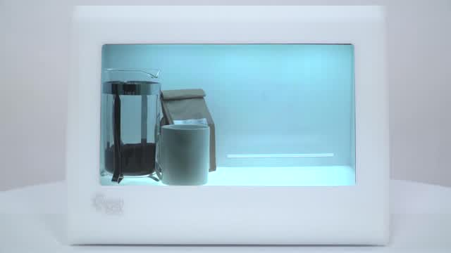 Product Demo: SplashBox Transparent LCD Box