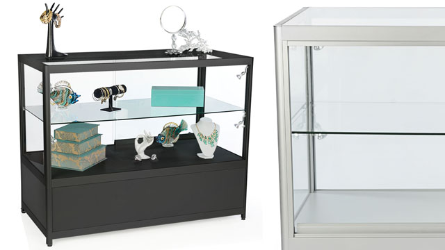 <p> Watch our skill product experts as they assemble this knock down display counter. Use this guide to help your own assembly, and before you know it you'll be up and running with this awesome display case!</p>
