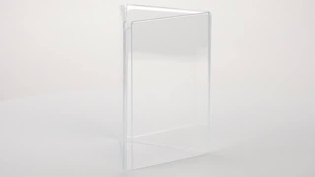 360 View: TRIFOLD46 Table Sign Holder