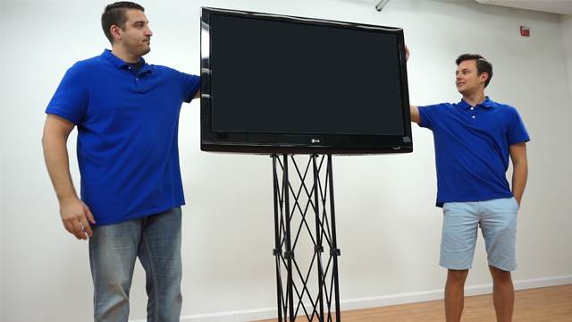 <p> Watch as our product experts demonstrate the assembly of this truss TV stand! These portable stands are great for trade shows, conferences, schools and more! </p>