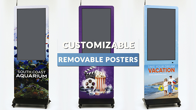 Feature Demo: Custom Printed Front Face Sign