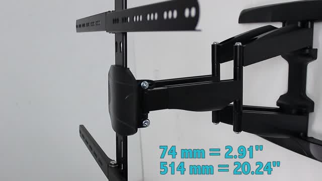 Feature Demo: CUR3265BK Curved TV Wall Mount