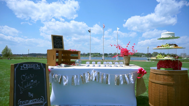 Displays2go Wedding Season!