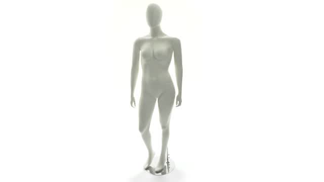 360 View: Full Figure Mannequin