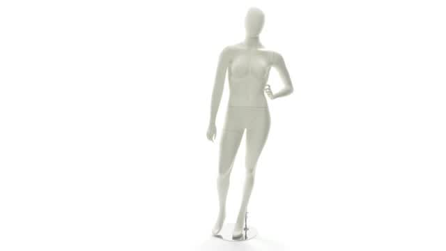 360 View: Size 10 Mannequin